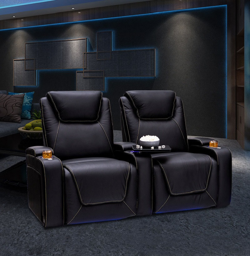 2 seater theater recliners