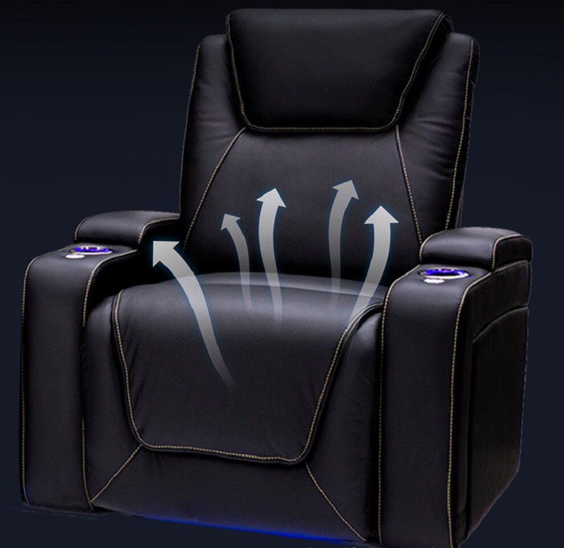 comfortable power recliner theater chairs