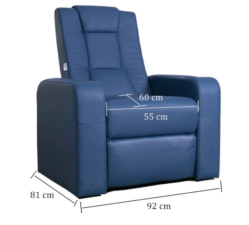 home theater seating dimension