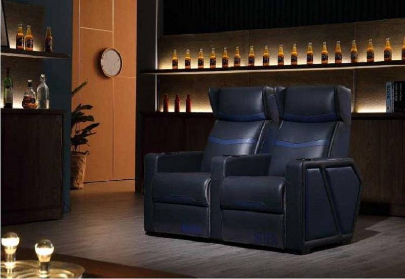 media room sofa
