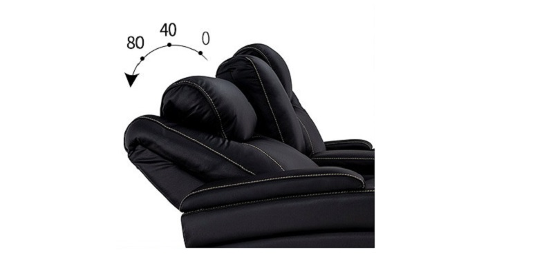 motorized headrest