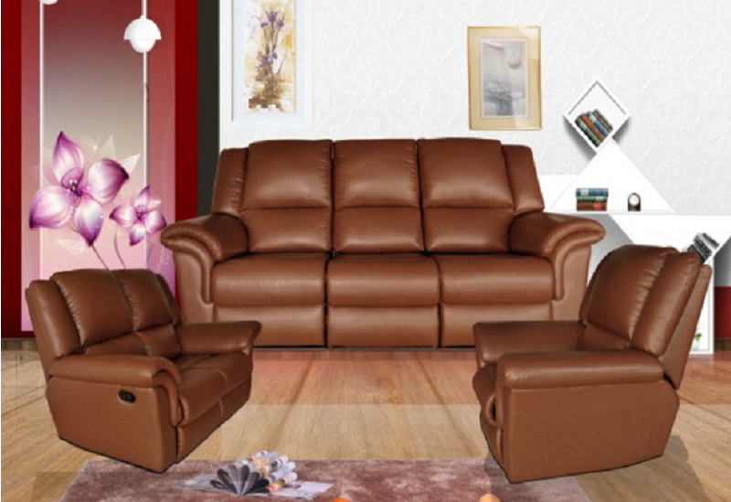 Leather Sectional Recliners