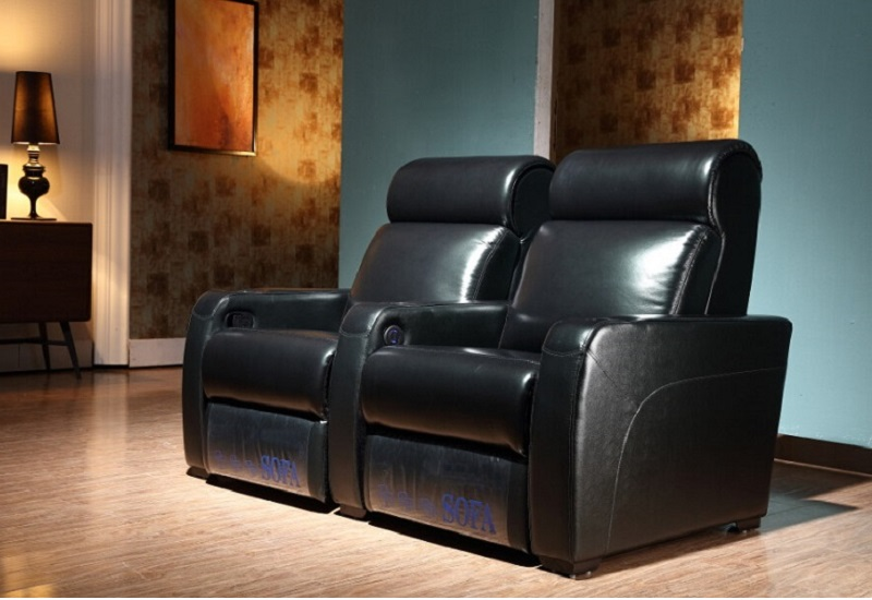 leather recliner theater seating
