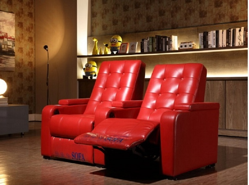 Red Cinema Recliner Chairs