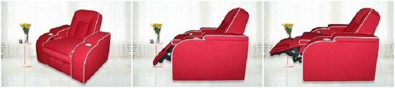 Theater Room Recliners with Cup Holder
