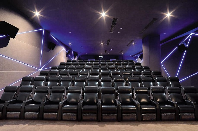 cinema with recliner chairs