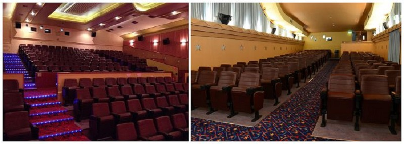 comfortable theater chairs