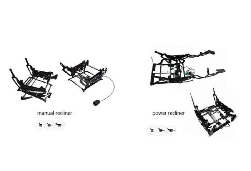 metal recline mechanism
