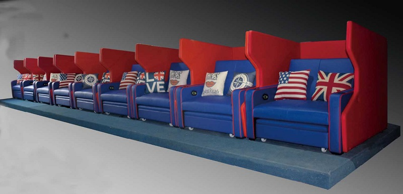 movie theater bed