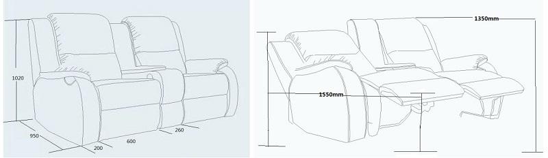 seating dimension