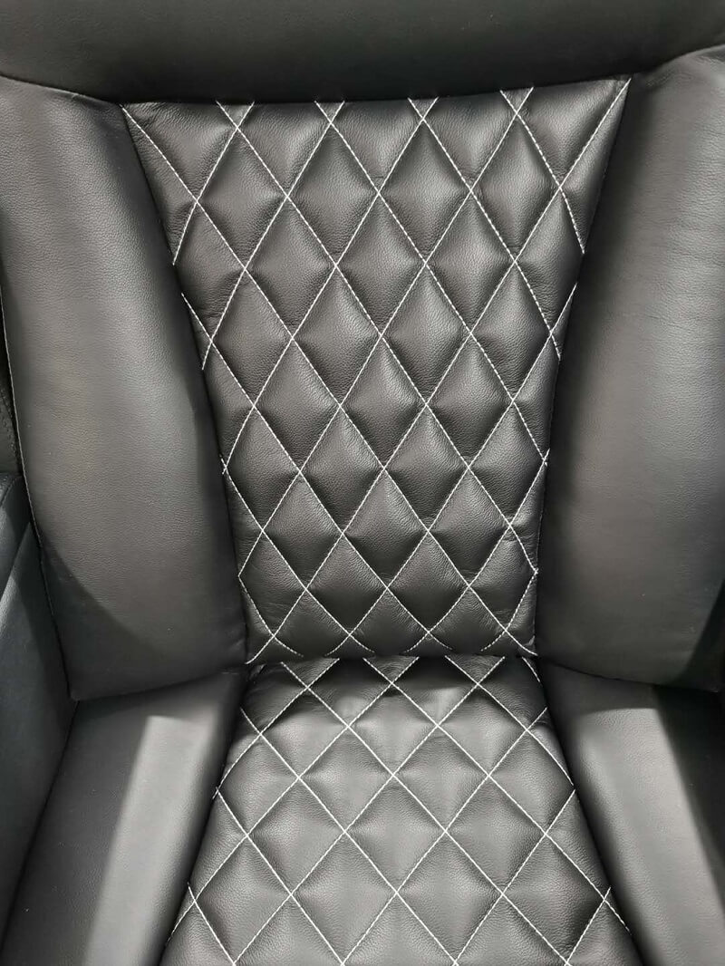 home theater recliner chair pattern