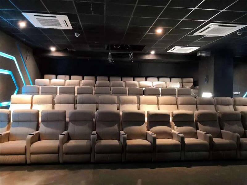 luxury theater seating