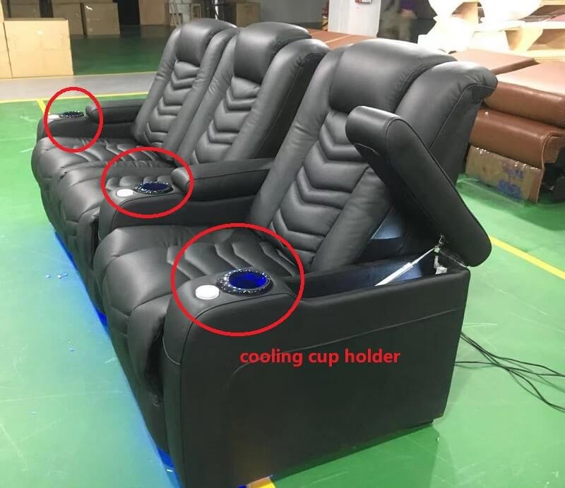 cooling cup holder