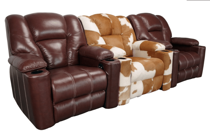 3 seater movie theater seating