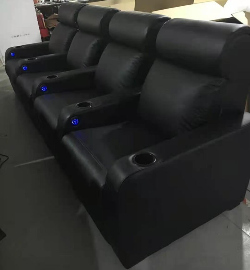 hand controller for theater recliners