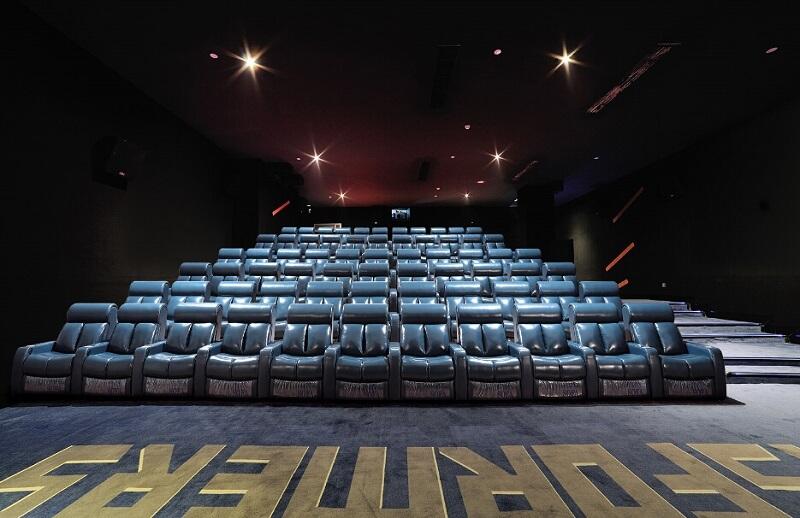 movie theater recliner