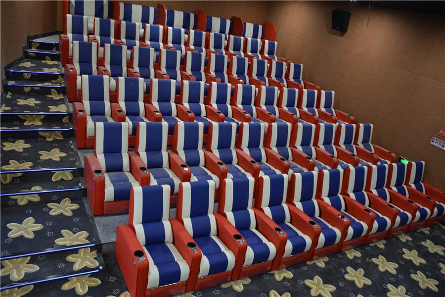 reclining theater sofa image