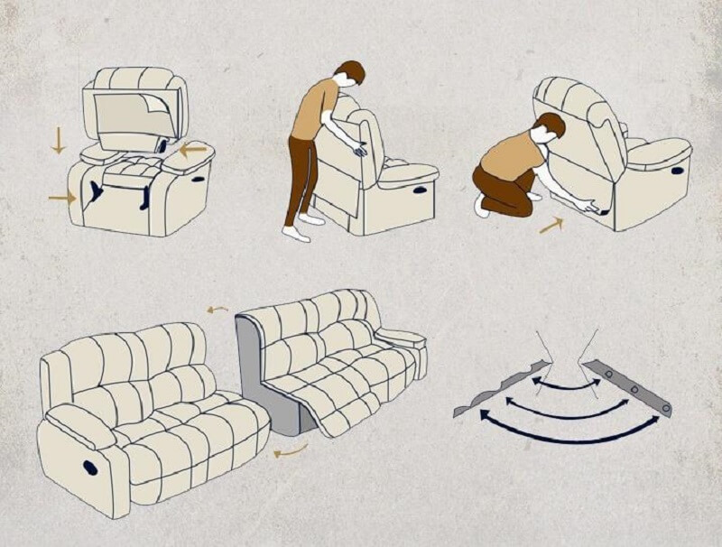 movie theater chair assemble