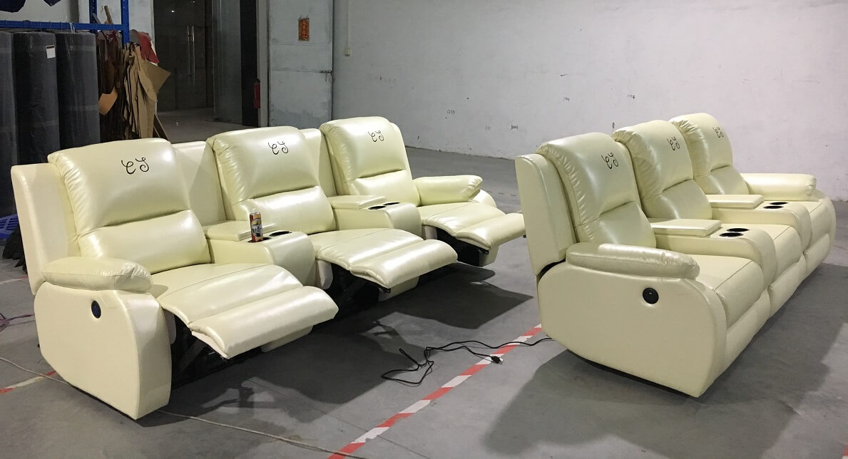 theater sofa recliners