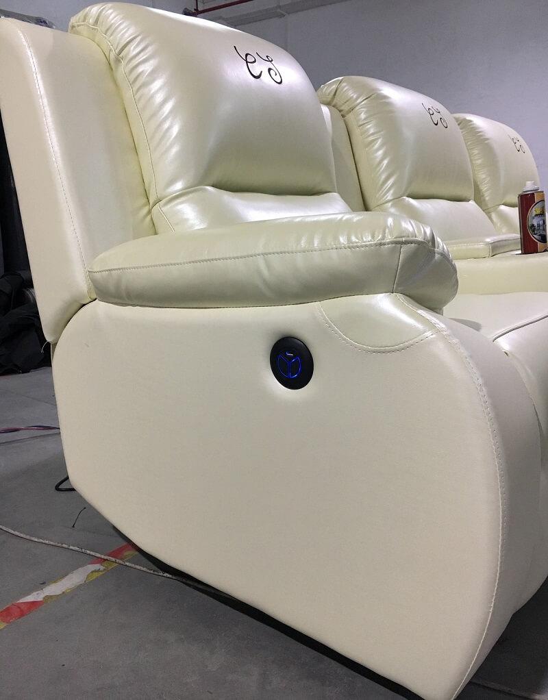 theater sofa switch
