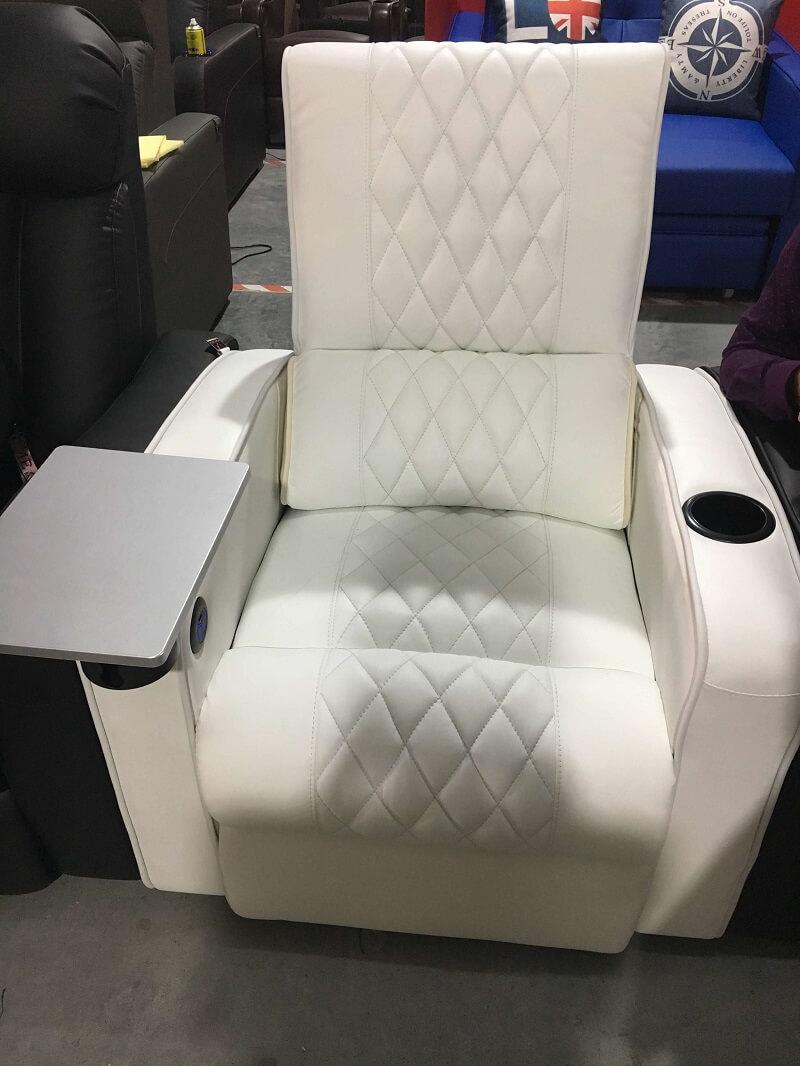 white power recliner