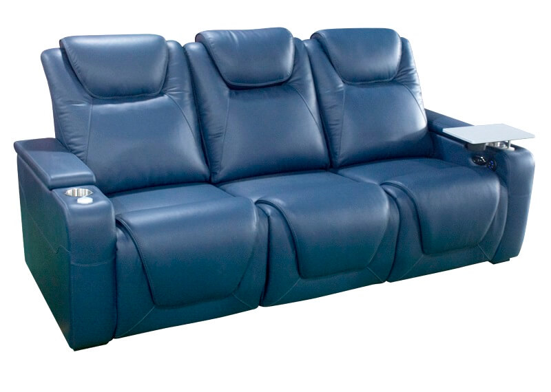 3 seater theater power recliner