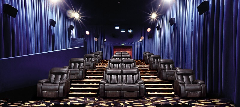 cinema with manual recliner