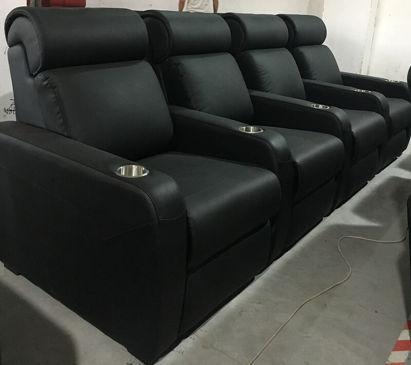 electric relcining theater chairs