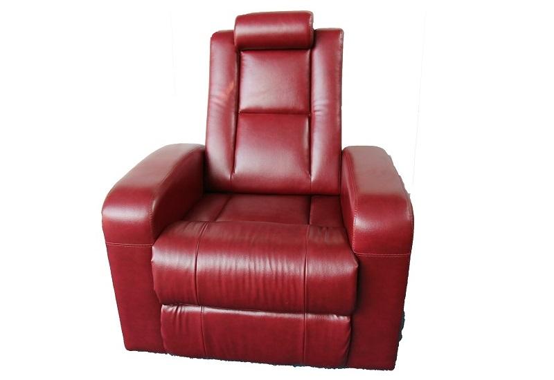 home cinema seating with adjustable headrest