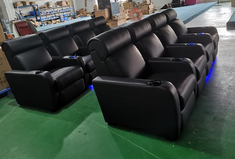 home theater electric recliners