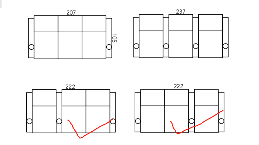 theater seating layout with loveseats