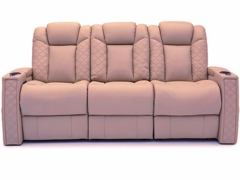 top grain leather theater seating