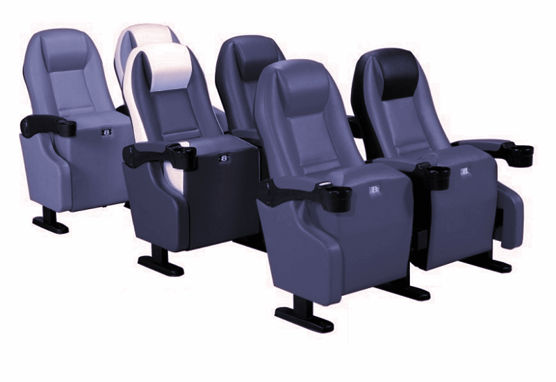 2 seater theater chairs