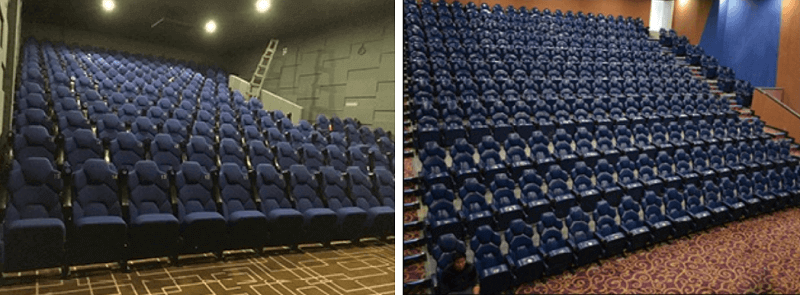 cinema theater chairs for sale