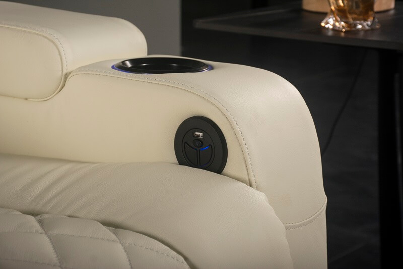 electric reclining theatre chair switches