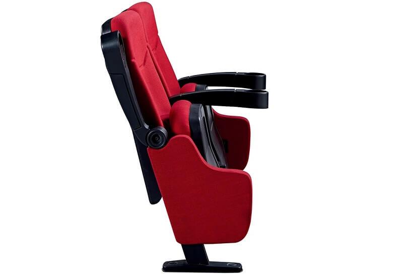 folding cinema chair with lifting arm