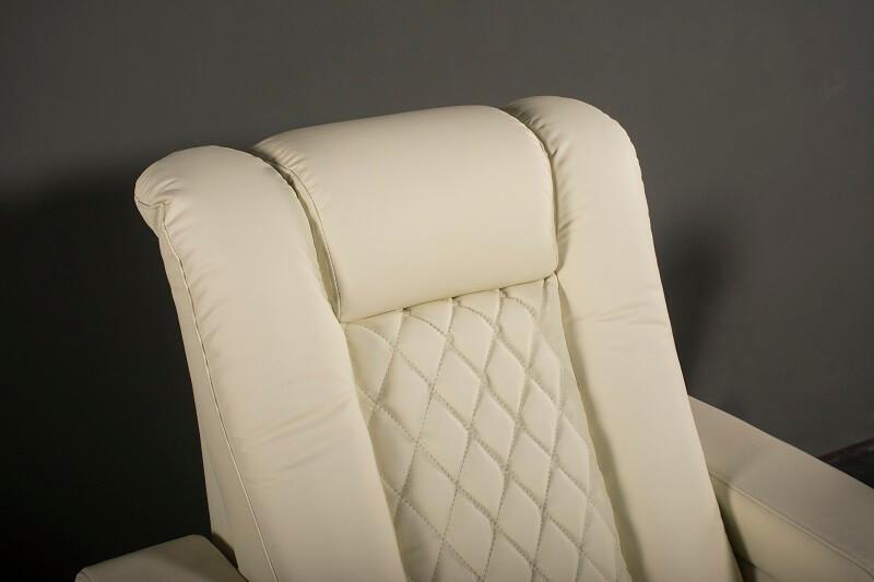 reclining theater chair headrest