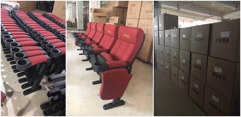 red cinema seat