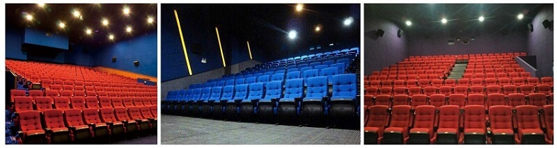 red movie theatre chairs